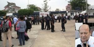 Regresan policías de Tabasco a trabajar