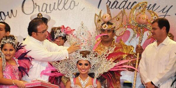 duarte corona a reina carnaval