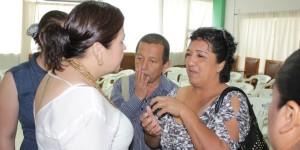 Alcaidesa Elda Llergo se reúne con Delegados Municipales de Teapa