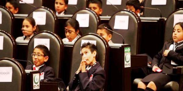 noveno parlamento de las niñas y niños