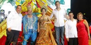 Gran alegría se vive en el Carnaval de Alvarado 2014