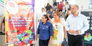 Inaugura Martha Elena Martínez Eurolandia para celebrar el Día del Niño