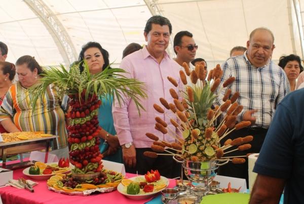 Inaugura alcalde máxima fiesta de los paraiseños   (3)