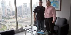 Analizan Roberto Borge y Ernesto Orillac diversificación turística y vuelos Panamá-Quintana Roo