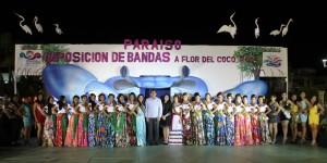 Oficialmente 18 jóvenes aspirantes a la flor del coco 2014