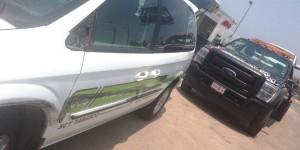 Denuncian contubernio tránsito y grúas negras en Tabasco