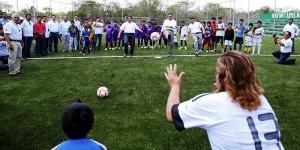 Promueven deporte y activación física en Hunucmá Yucatán