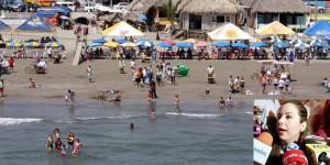 A reventar playas en el Puerto de Veracruz