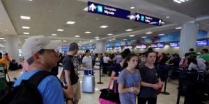 Incrementa 10.7 por ciento el tráfico de pasajeros en el Aeropuerto Internacional de Cancún