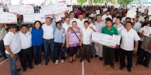 Se consolida el programa Peso a Peso en todo Yucatán