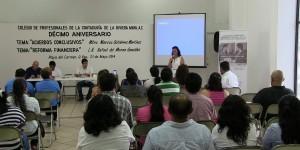 El alcalde de Solidaridad Mauricio Góngora reconoce función de Contadores Públicos