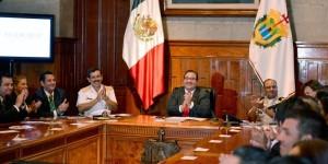 Instala Javier Duarte Consejo de Protección Civil por Temporada de Lluvias y Ciclones Tropicales