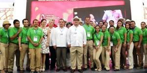 Muestra Veracruz su belleza y la alegría de su gente en Tianguis Turístico: Javier Duarte