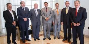 El Gobernador de Yucatán Rolando Zapata Bello se reúne con el alcalde de Miami