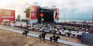 Continúa operativo de seguridad en el Festival de la Salsa 2014
