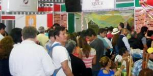Gran afluencia de visitantes a la Semana de Yucatán en México 2014