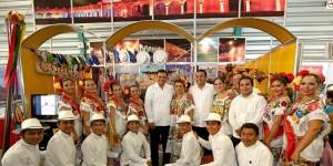 Yucatán enamora con su tradición en la Ciudad de México
