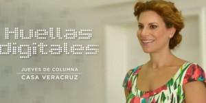 Columna Casa Veracruz: Huellas digitales
