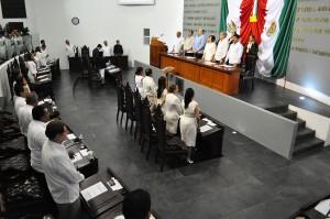 Congreso de Tabasco clausura el Primer Periodo Ordinario de Sesiones del Segundo Año