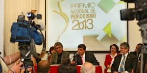 Presentan convocatoria para el Premio Nacional de Periodismo 2013