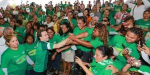 Beneficios para las mujeres, incluirá entrega de canasta básica en Chiapas