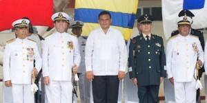 Realizan cambio de mando de la IX Zona Naval en Yucatán