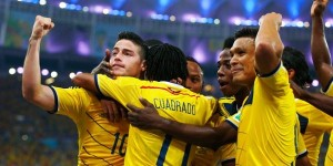Colombia vence 2 a 0 a Uruguay