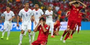 Elimina Chile al campeón España