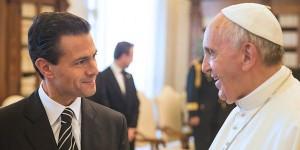Acepta el Papa Francisco invitación del Presidente Enrique Peña Nieto a visitar México