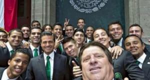 Felicita EPN en Twitter: ¡Bravo, Ochoa!