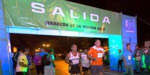 Gobernador de Yucatán participa en el Maratón de la Marina
