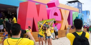 Promoción turística de México en la Copa Mundial de Futbol en Brasil