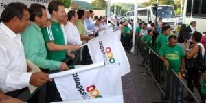 Concesiones de transporte en Chiapas se otorgarán de manera transparente: Manuel Velasco Coello