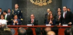 Quintana Roo cuenta con la agenda de competitividad de destinos Turísticos metas del presidente: Roberto Borge