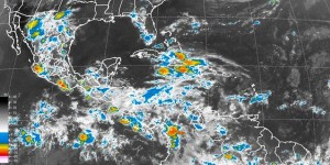 Se prevén lluvias intensas en Chiapas y muy fuertes en Guerrero, Oaxaca y Veracruz