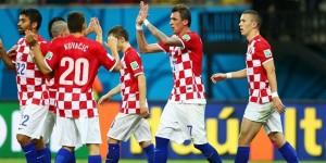 Croacia goleo a Camerún