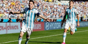Argentina se salva con golazo de Messi