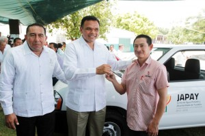 Garantiza Gobierno del Estado cobertura de agua potable para los yucatecos