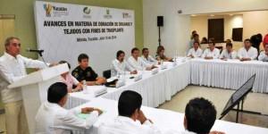 Presentan avances en materia de donación y trasplantes en Yucatán