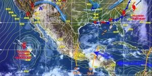 Continuaran lluvias y tormentas eléctricas el fin de semana en diferentes regiones de México