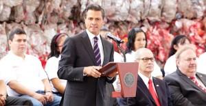 Crece empleo formal 36 por ciento primer semestres del año: Enrique Peña Nieto