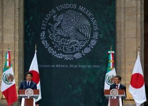 México y Japón realizan comercio cercano a los 20 mil millones de dólares: Enrique Peña