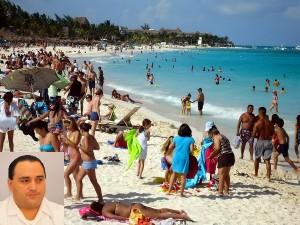 Excelente inicio de la temporada vacacional al recibir ya más de un millón de turistas: Roberto Borge