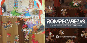 Columna Casa Veracruz: Rompecabezas