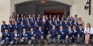 En Veracruz, educación de calidad y mejores oportunidades de vida: Javier Duarte