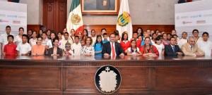 Continúa Veracruz reforzando políticas públicas en favor de la niñez: Javier Duarte