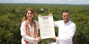 Recibe Calakmul certificado patrimonio mixto de la UNESCO
