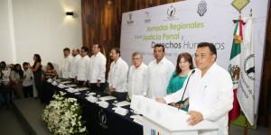 Garantiza Yucatán respeto a justicia penal y derechos humanos