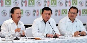 Veracruz, con crecimiento y conducción política: Osorio Chong