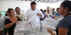 Prepara gobierno de Yucatán entrega universal de útiles escolares